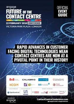 2018 Future of the Contact Centre Conference