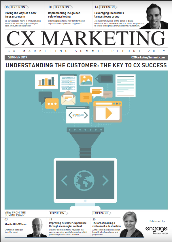 <span>2019 CX Marketing Summit Industry Report</span> - Free Download